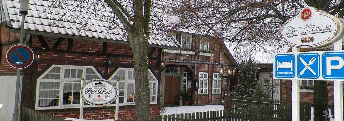 Gasthaus zur Linde Oesingen Winter
